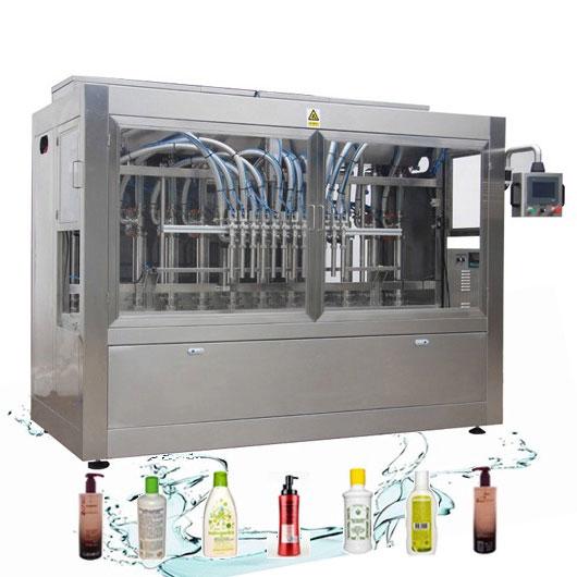 Korozyona Dayanıklı Otomatik Sıvı Dolum Hattı Çamaşır Deterjanı Dolum Makinesi