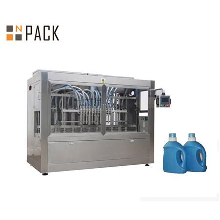 Otomatik Sıvı Deterjan Duş Jeli Şişe Sıvı Dolum Makinesi