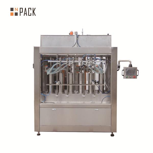 Şişe Dolum için Pnömatik Krem Yapıştır Sıvı Dolum Makinesi